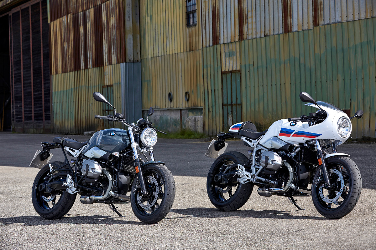 Le nuove BMW R nineT Racer e R nineT Pure