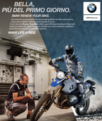 Renew Your Bike - Bella più del primo giorno - BMW Motorrad Motoves