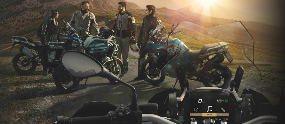 BMW Motorrad Connected Season 2018