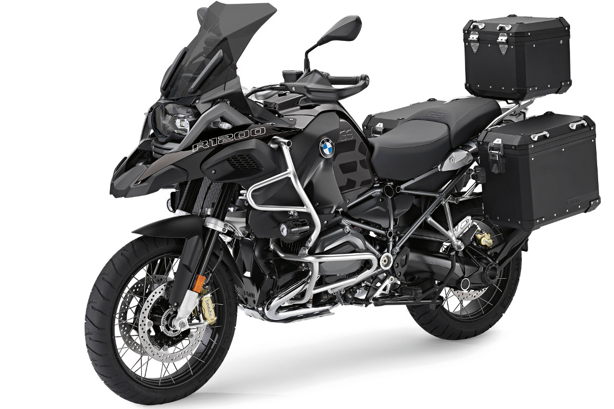 Nuovi accessori originali BMW Motorrad 'Edition Black', un tocco di eleganza per le BMW R 1200 GS e R 1200 GS Adventure