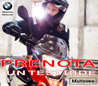 Prenota un Test Ride alla Motoves