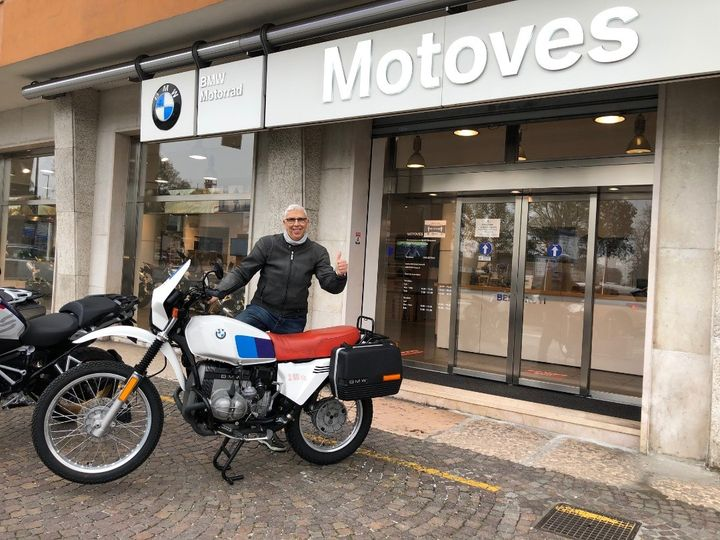 BMW Motorrad Motoves - BMW R 80 G/S - Luciano Trevisan