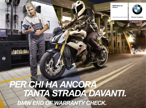 Alla Motoves End of warranty check BMW Motorrad