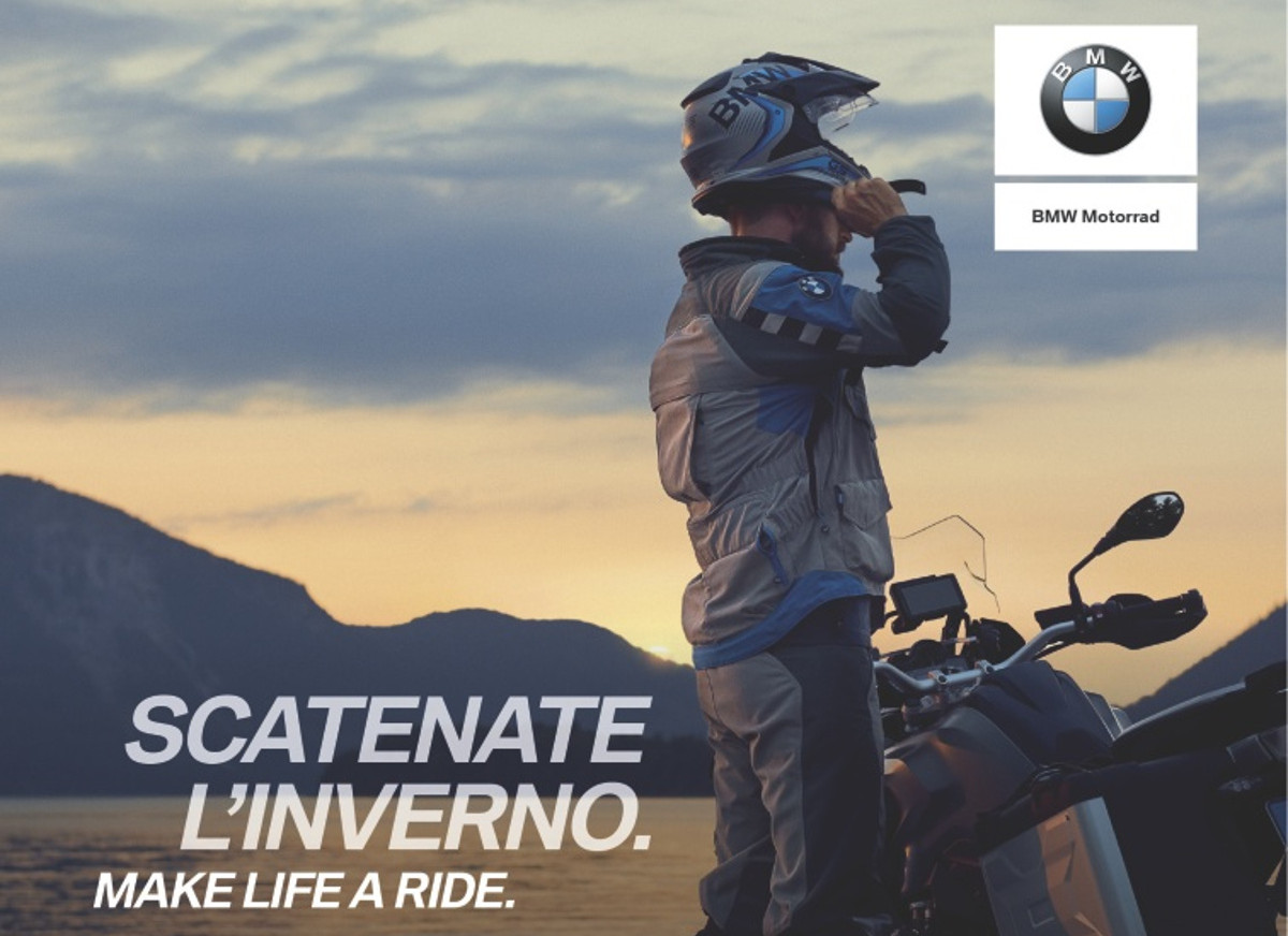 Winter Campaign - Scatenate l'Inverno - BMW Motorrad Motoves